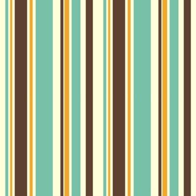 Fototapet färgrik randig seamless vektor mönster bakgrund illustration