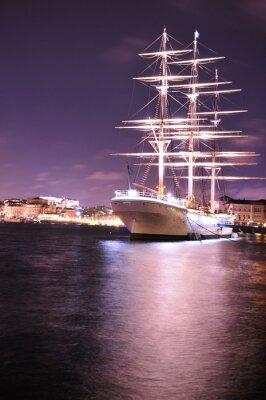 Fototapet fartyg