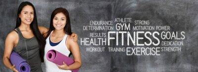 Fototapet fitness Workout