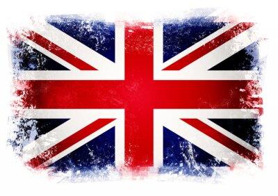 Fototapet Flagga i Förenade kungariket