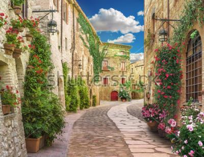 Fototapet Flolar, old Italy street