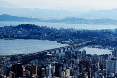Fototapet Florianópolis - Santa Catarina - Brasil