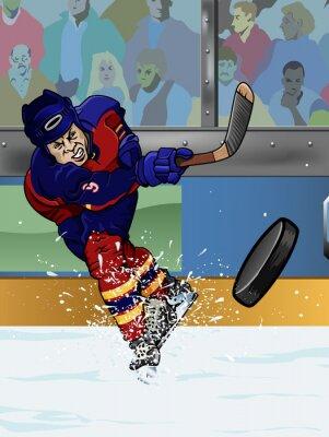 Fototapet Florida ishockeyspelare.
