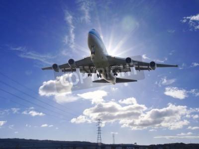 Fototapet Flygplansstart