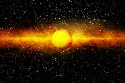 Fototapet Födelsen av en Star