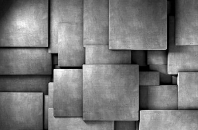 Fototapet fondo abstracto 3d, Bloques de Cemento
