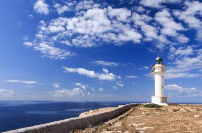 Fototapet Formentera fyren