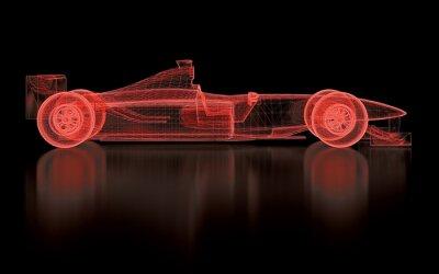 Fototapet Formula One Mesh