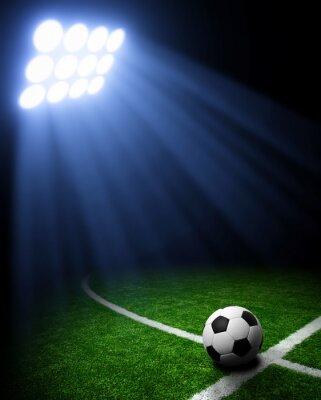 Fototapet fotbollsarena