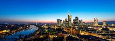 Fototapet Frankfurt