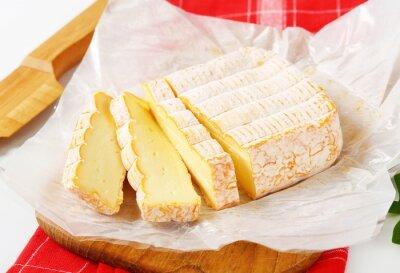 Fototapet Franska tvättades skorpa ost