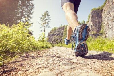 Fototapet Friska trail run