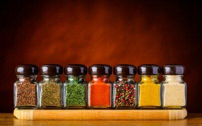 Fototapet Frön och kryddor