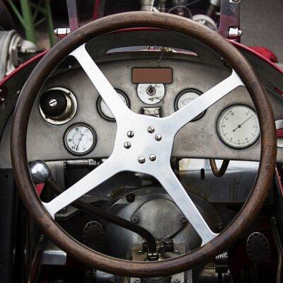Fototapet gamla hjulet