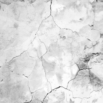 Fototapet gamla krackad gips vektor textur