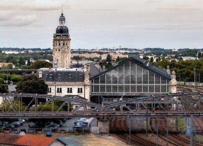 Fototapet gare de la Rochelle