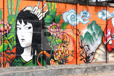 Fototapet geisha_1