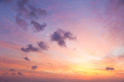 Fototapet Gentle Colors of Sunrise Sky