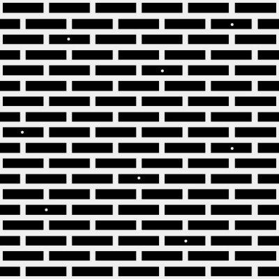 Fototapet Geometrisk enkel svart och vit minimalistisk mönster, tegel. Kan användas som bakgrundsbild, bakgrund eller textur.