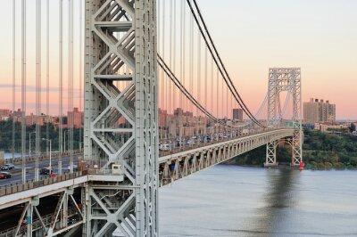 Fototapet George Washington Bridge