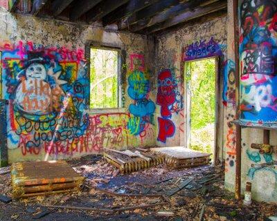 Fototapet givna Graffit