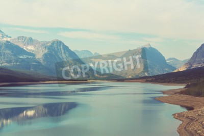 Fototapet Glaciär National Park, Montana, USA