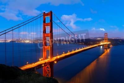 Fototapet Golden Gate, San Francisco Kalifornien