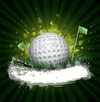 Fototapet golf banner