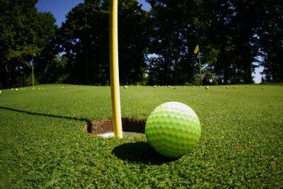 Fototapet Golfbana