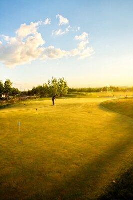 Fototapet golfbanor