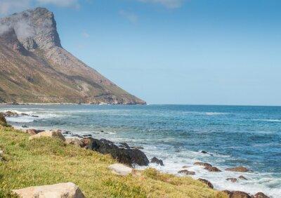 Fototapet Gordons Bay Sydafrika kust bergsväg
