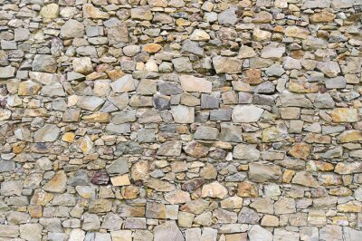 Fototapet Grå granit vägg bakgrund konsistens