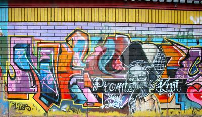 Fototapet graffiti
