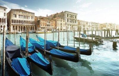 Fototapet Grand Canal, Venedig, Italien