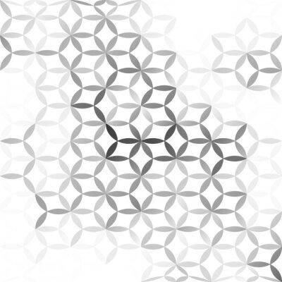 Fototapet Gray White mesh bakgrund, Creative mallar