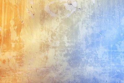 Fototapet Grunge bakgrund med struktur av stuck