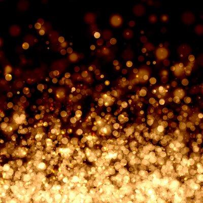 Fototapet Guld abstrakt ljus bakgrund