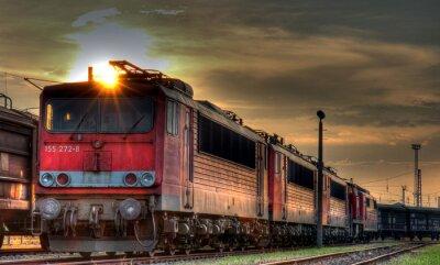 Fototapet Güterbahnhof HDR Still Life