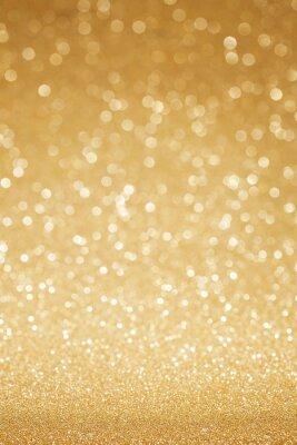 Fototapet Gyllene glitter abstrakt bakgrund