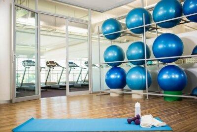 Fototapet Gym med inget folk