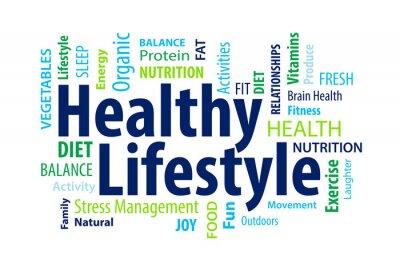 Fototapet Hälsosam livsstil