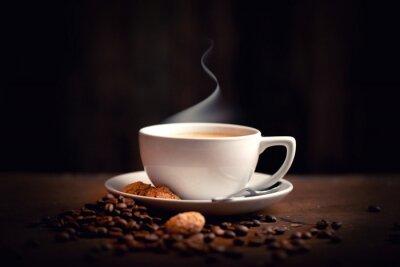 Fototapet Heisser, frischer Kaffee