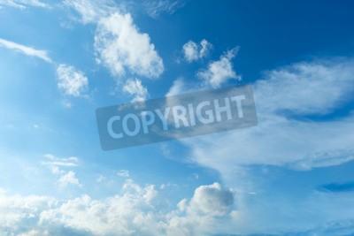 Fototapet Himmel, blå himmel