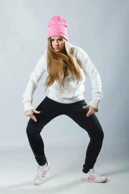 Fototapet hip dancer hop