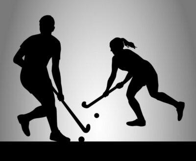 Fototapet Hockey - 35