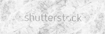 Fototapet horisontell elegant vit marmorbakgrund.