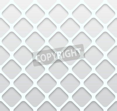 Fototapet Illustration av papper Hole sömlösa mönster abstrakt