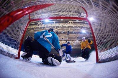Fototapet ishockey målvakt