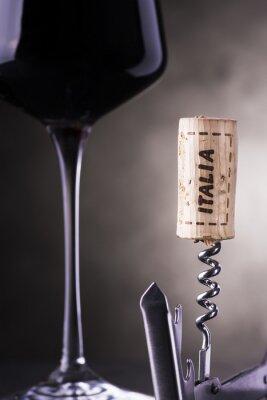 Fototapet italienskt vin