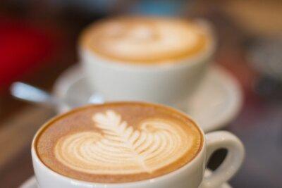 Fototapet Kaffe sen mjuk fokus